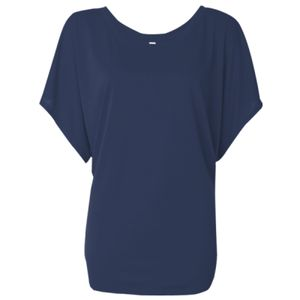 Women's Flowy Draped Sleeve Dolman Tee Thumbnail